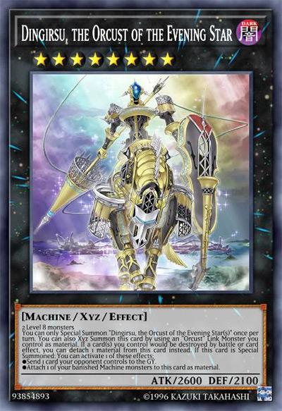 Dingirsu, Orcust of the Evening Star YGO Card