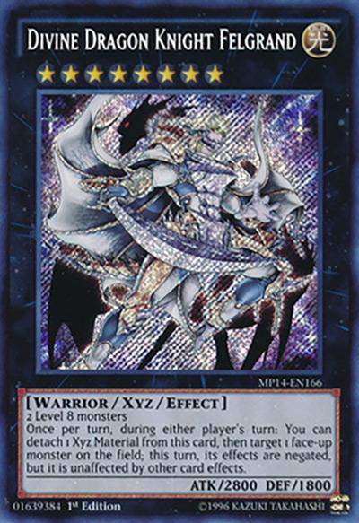 Divine Dragon Knight Felgrand YGO Card