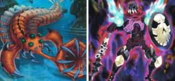 Paleozoic Opabinia & Phantom Knights Cursed Javelin YGO