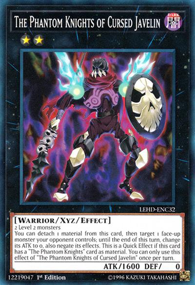 The Phantom Knights of Cursed Javelin YGO Card