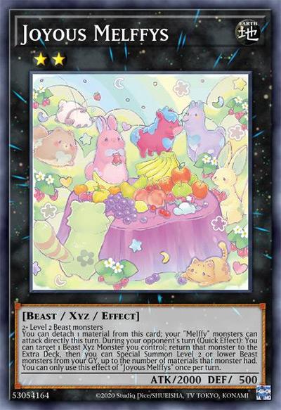 Joyous Melffys Yu-Gi-Oh Card