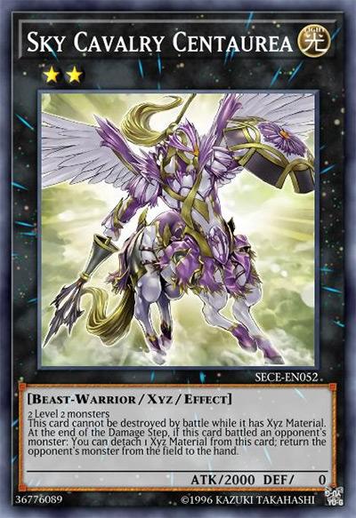 Sky Cavalry Centaurea Yu-Gi-Oh Card