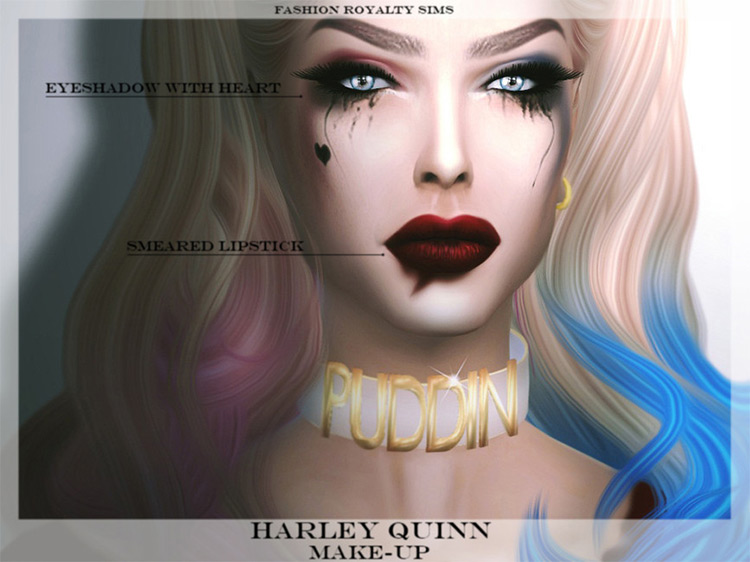 Harley's Makeup CC for The Sims 4