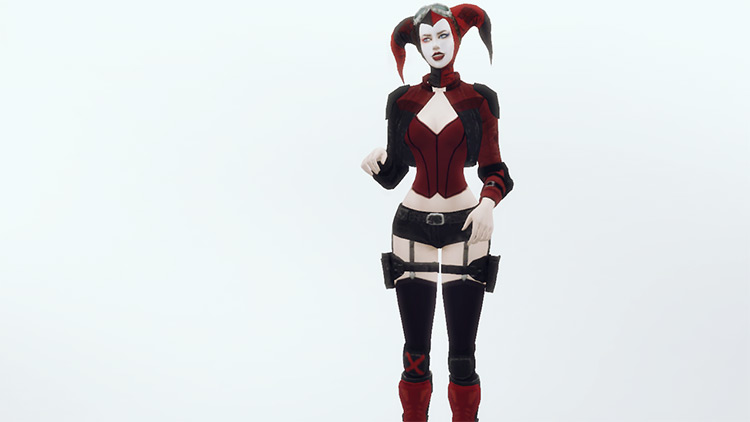 Harley's Injustice 2 Outfit / Sims 4 CC