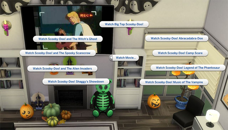 Scooby-Doo Movie Mod for The Sims 4