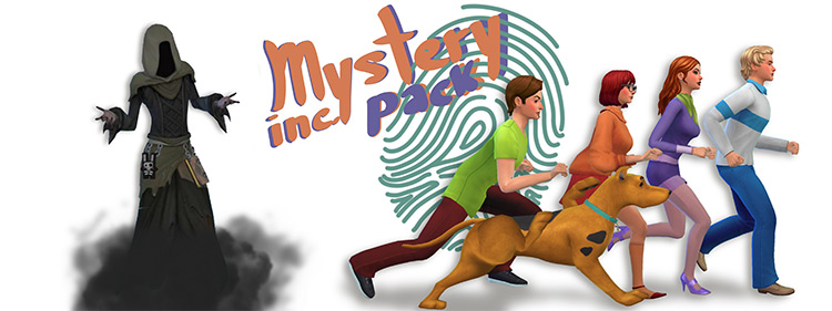 Mystery Inc. CC Pack / Sims 4