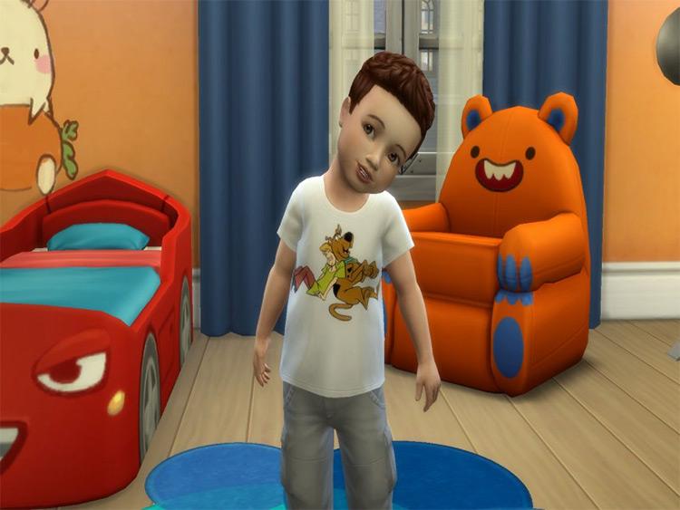Scooby-Doo Toddler Shirt / TS4 CC