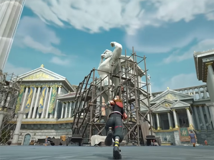 Photo of Hercules State for Cosmic Ring / KH3