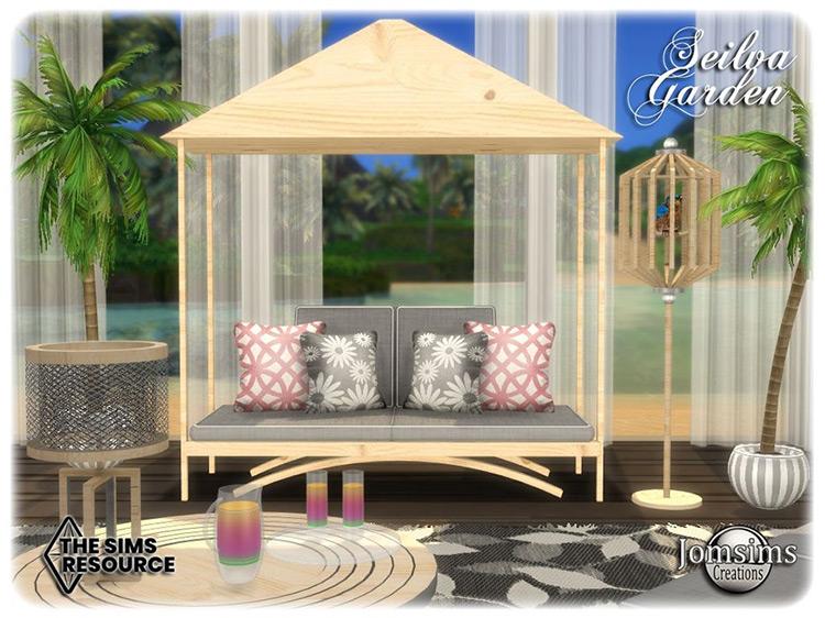 Seilva Garden Set for The Sims 4