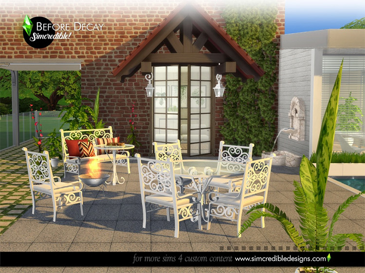 Before Decay CC Set for The Sims 4