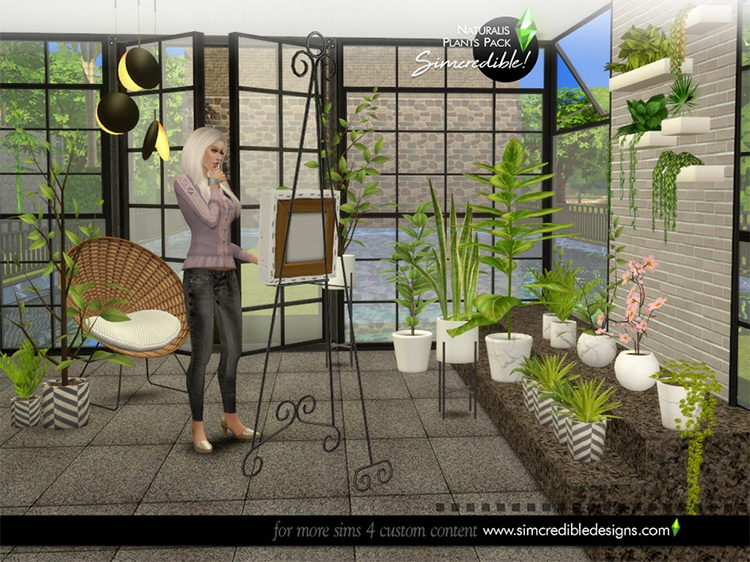Naturalis Plants II CC for The Sims 4