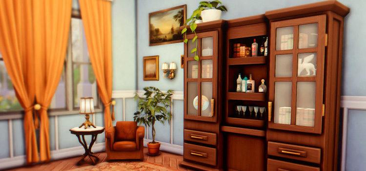 Sims 4 CC: Best Old-School Antiques (Furniture, Décor & More)