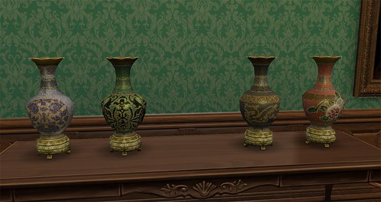 Antique Chinese Vases / Sims 4 CC