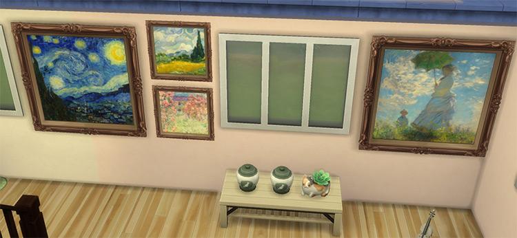 Impressionist Paintings / TS4 CC