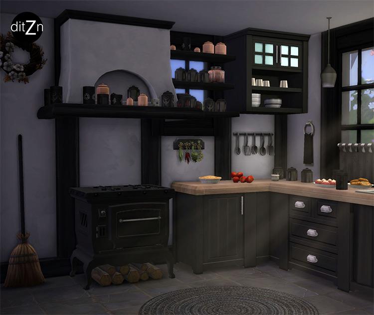 Antique Stove Hood / Sims 4 CC