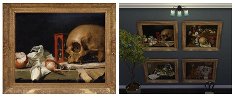 Vanitas Paintings Set / TS4 CC