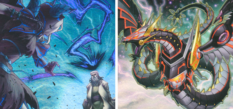 Witchs Strike and Cyber Dragon Infinity / YGO