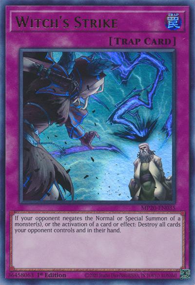 Witch's Strike Yu-Gi-Oh Card