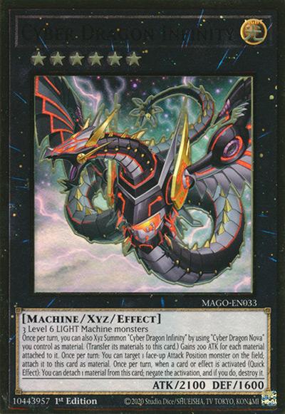Cyber Dragon Infinity YGO Card