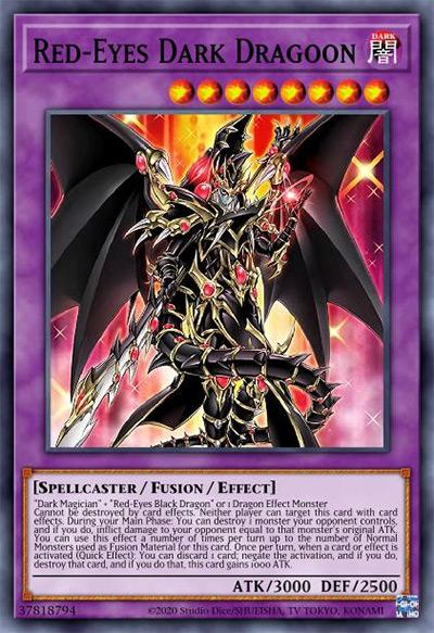Red-Eyes Dark Dragoon Yu-Gi-Oh Card