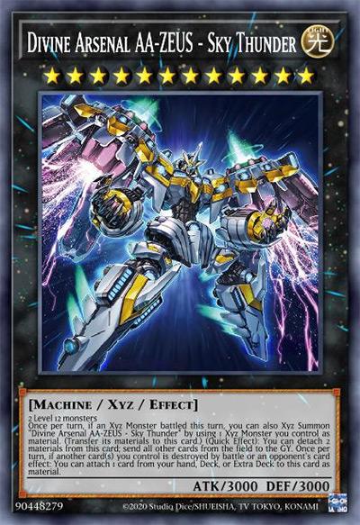 Divine Arsenal AA-Zeus - Sky Thunder YGO Card