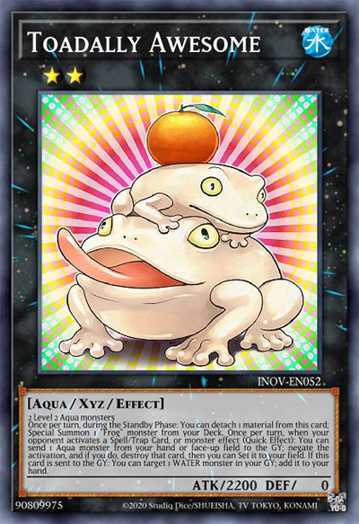 Toadally Awesome YGO Card