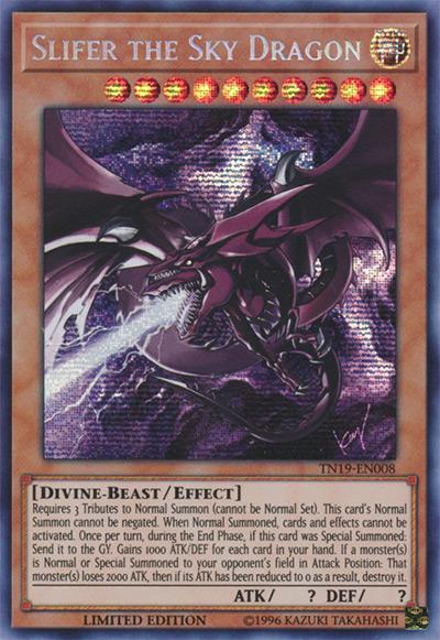 Slifer the Sky Dragon (TN19 Art) YGO Card