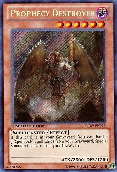 Prophecy Destroyer Yu-Gi-Oh Card