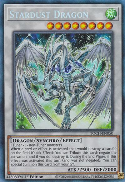 Stardust Dragon (Original Art) YGO Card