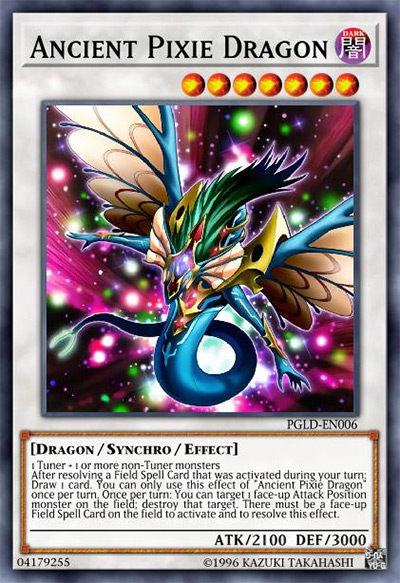 Ancient Pixie Dragon Yu-Gi-Oh Card