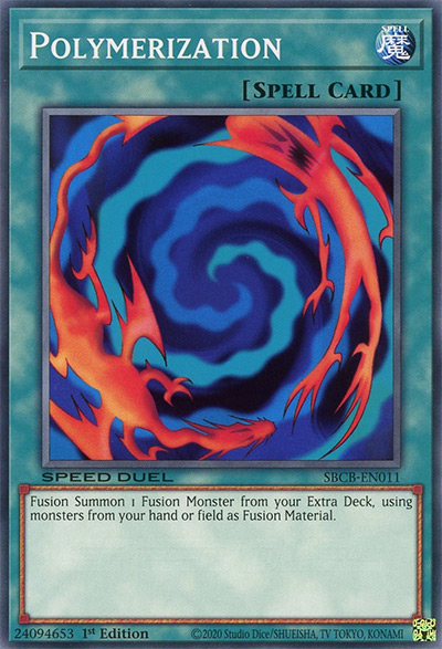 Polymerization (Original Art) YGO Card