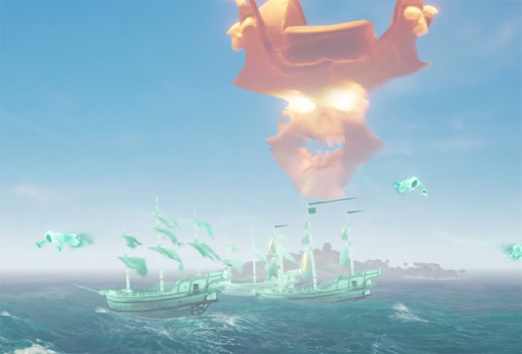 Flameheart Boss Fight / Sea of Thieves