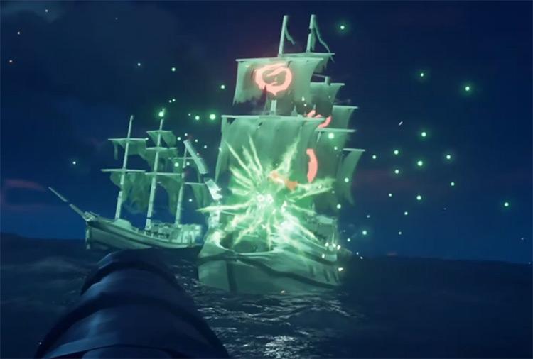 Flameheart Ghost Ships Dark / Sea of Thieves