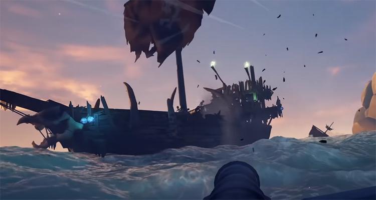 Skeleton Fleet Boss Fight / Sea of Thieves