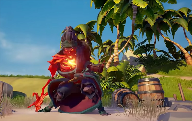 Ashen Lord Pose / Sea of Thieves