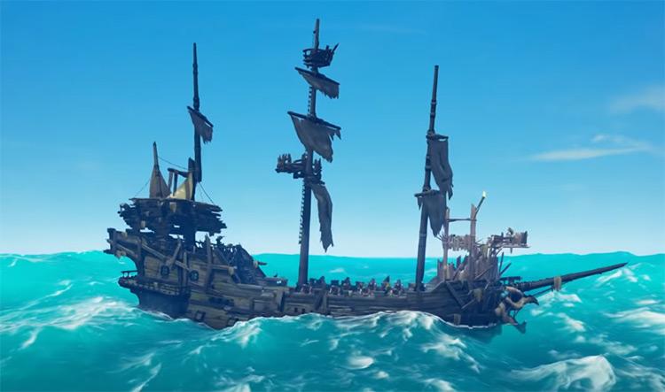 Skeleton Ship Boss / Sea of Thieves