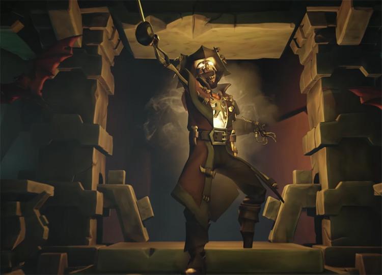 Skeleton Captain Boss / Sea of Thieves