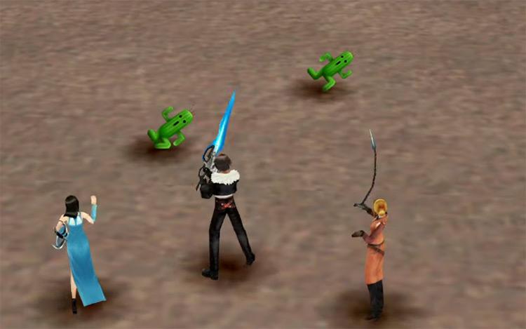 Cactuar Island Grind / FFVIII HD Screenshot