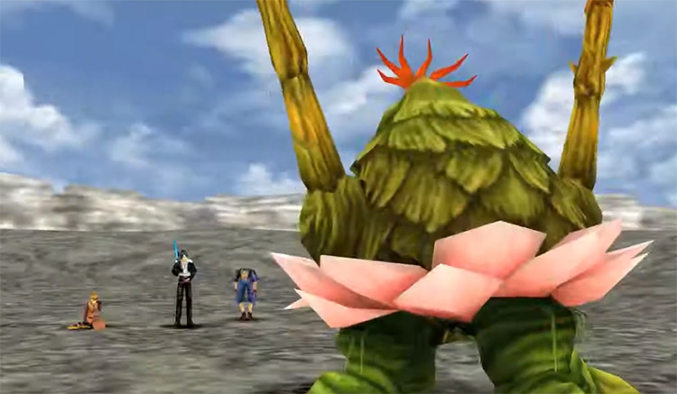 Island Closest To Heaven Battle / FFVIII HD Screenshot
