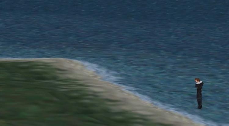Beach near Balamb Garden / FFVIII HD Screenshot