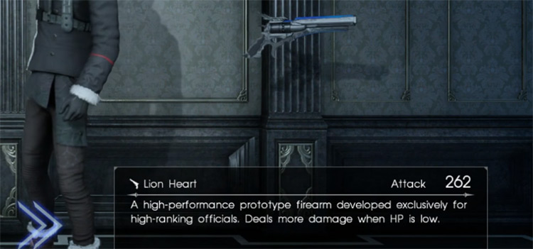 Lion Heart Gun / Final Fantasy XV
