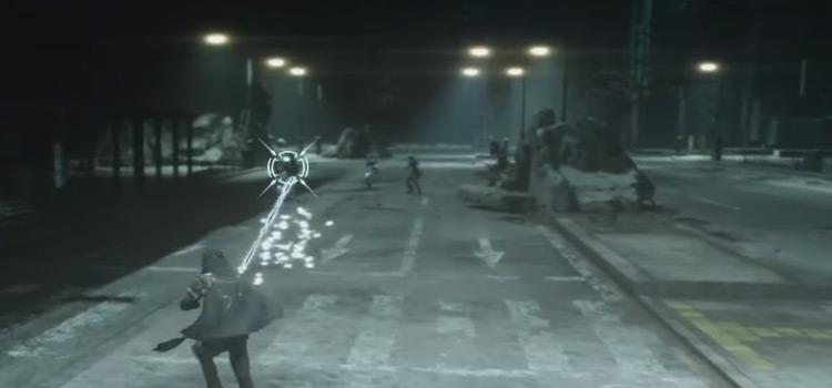 FFXV Battle Using Katana Of The Warrior