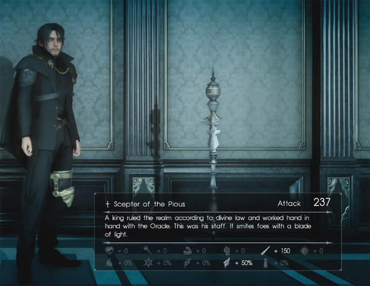 Scepter of the Pious / Final Fantasy XV Screenshot