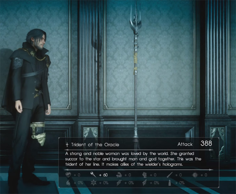 Trident of the Oracle / Final Fantasy XV Screenshot