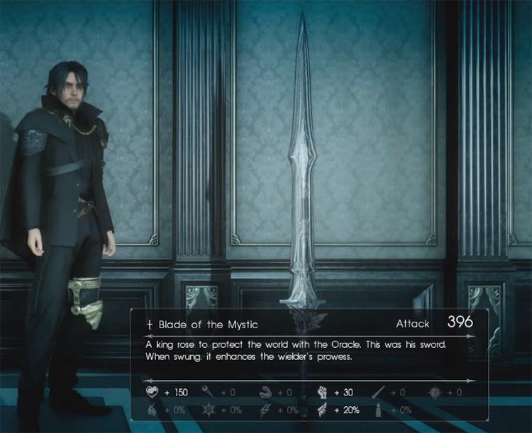 Blade of the Mystic / Final Fantasy XV Screenshot