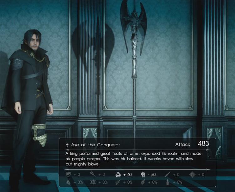 Axe of the Conqueror / Final Fantasy XV Screenshot