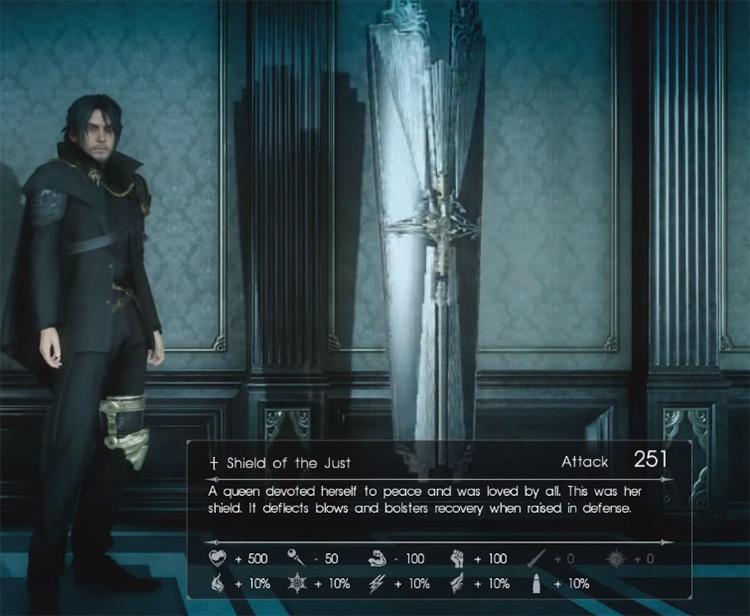 Shield of the Just / Final Fantasy XV Screenshot