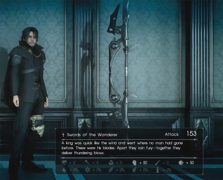 Swords of the Wanderer / Final Fantasy XV Screenshot