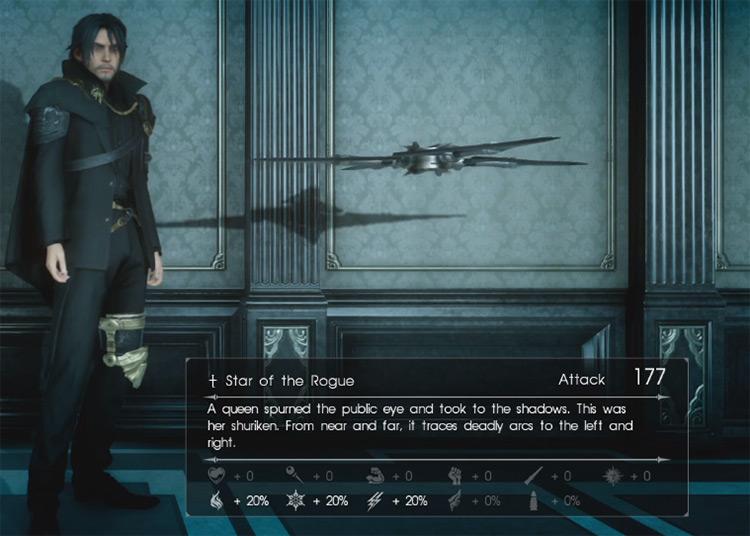 Star of the Rogue / Final Fantasy XV Screenshot
