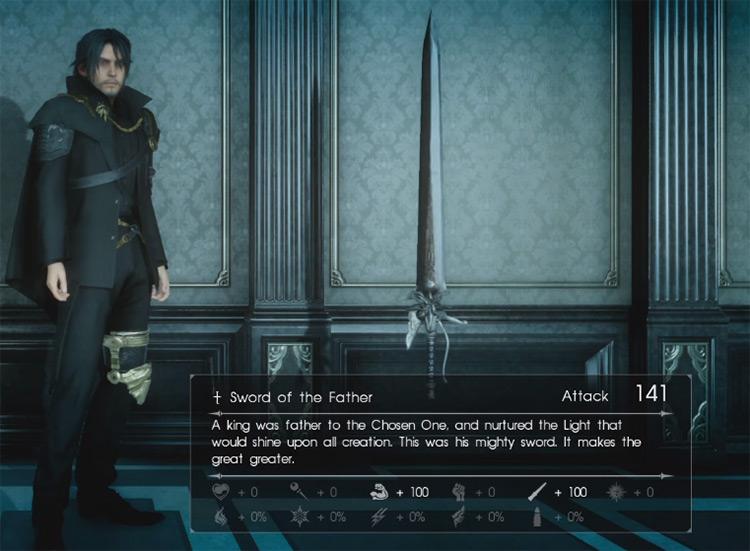 Sword of the Father / Final Fantasy XV Screenshot